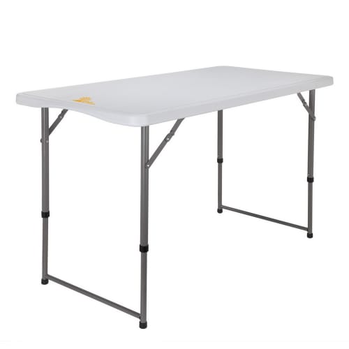 Palm Springs Portable 4ft Adjustable Height Plastic Folding Table