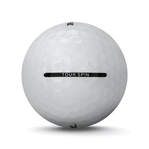 24 RAM Golf Tour Spin 3 Piece Golf Balls - White