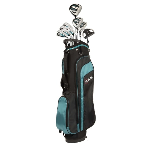 Ram Golf EZ3 Ladies Petite Golf Clubs Set with Stand Bag - All Graphite Shafts
