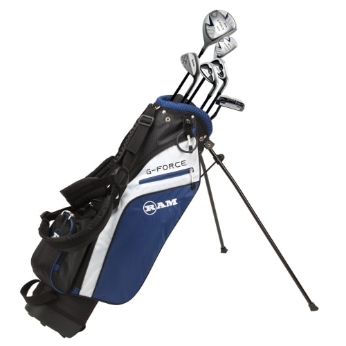 Ram Golf Junior G-Force Boys Golf Clubs Set with Bag