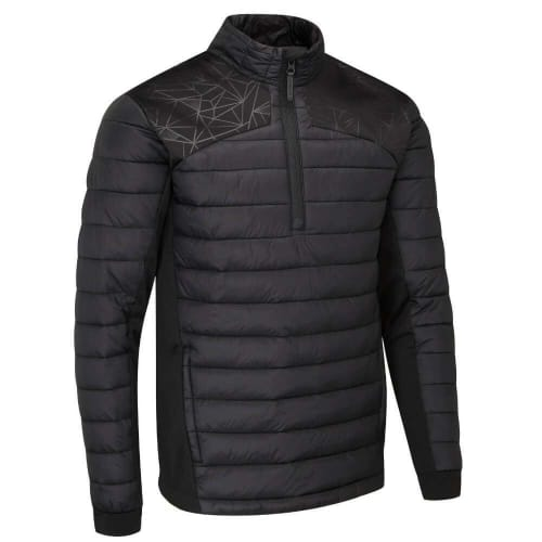 Stuburt Golf Evolve Sport Half Zip Padded Jacket  Black