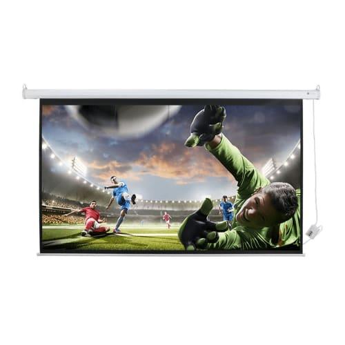 """Homegear 120"""" 16:9 HD/3D Electric Projector Screen"""