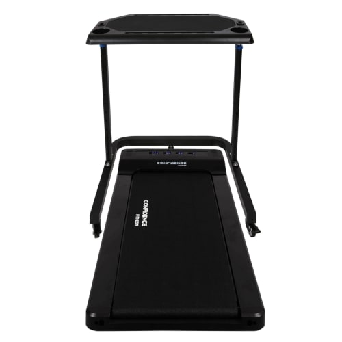 Confidence Adjustable Walking Desk and Treadmill - Walk while you work!