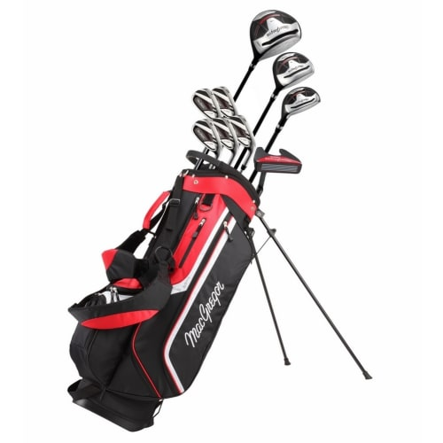 MacGregor Golf CG3000 Golf Clubs Set with Bag, Mens Right Hand, Graphite/Steel