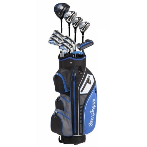 MacGregor Golf DCT3000 Premium Mens Golf Clubs Set, Graphite/Steel, Right Hand, Cart Bag