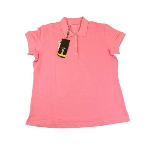 Adidas Womens ClimaLite Jersey Polo