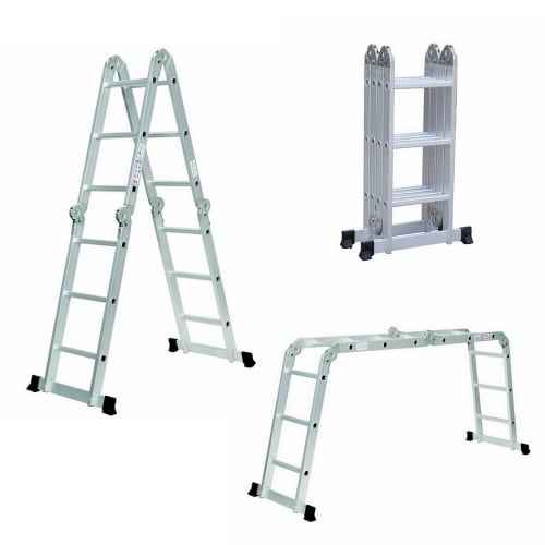 Homegear 12.5ft Multi-Purpose Folding Ladder