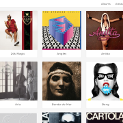 Desktop Artists Page