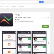 Avigo mobile app