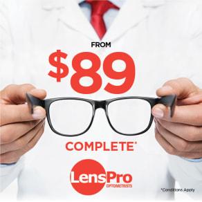 $89 Complete - Frame & Lense Special