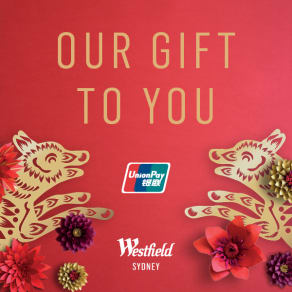 Union Pay Offer - Our Gift To You