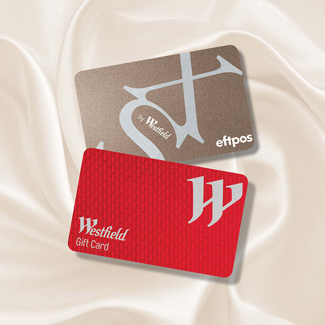 Westfield Gift Cards at Westfield Burwood.