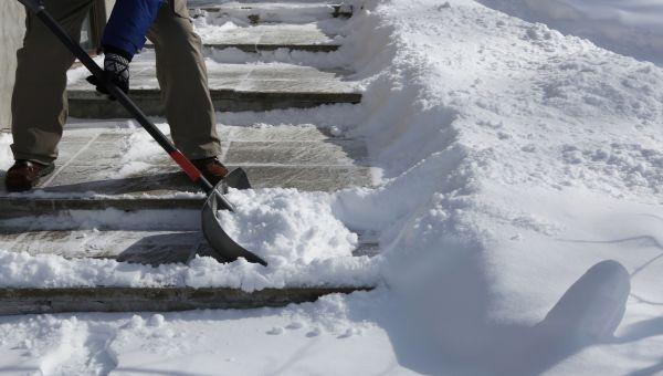 Drop the snow shovel