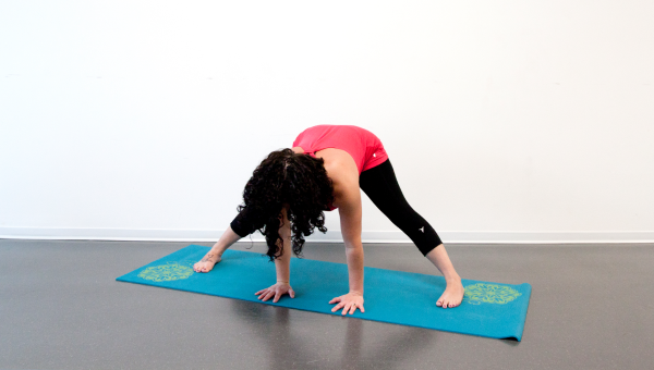 Wide-Legged Forward Fold (Prasarita Padottanasana)