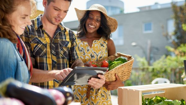 Become a Regular at the Farmers' Market