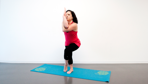 Eagle Pose (Garudasana)