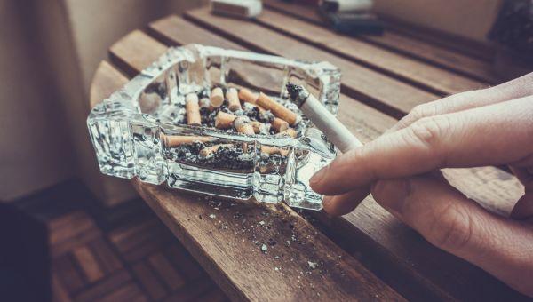 You're a smoker