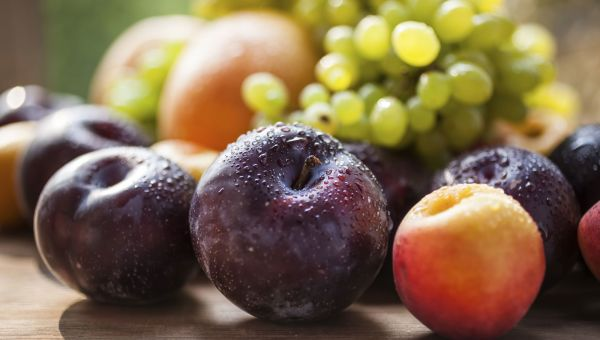 Make plums and berries a part of your diet.