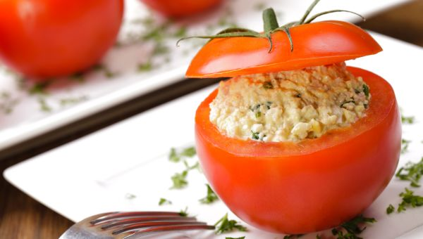 92. Cottage cheese and tomato