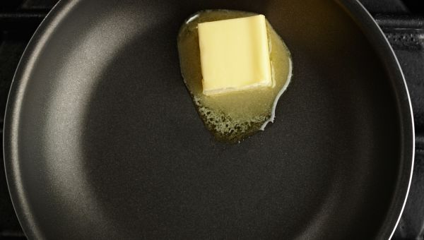 Don't put butter on kitchen burns