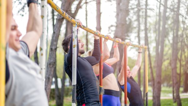 Try an outdoor boot camp