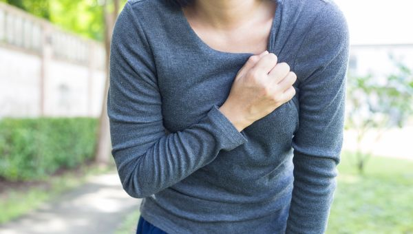 There are different types of breast pain