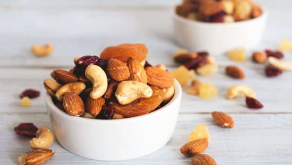 Vitamin E: Nuts and Seeds