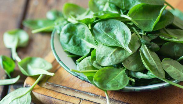 Load up on dark leafy greens