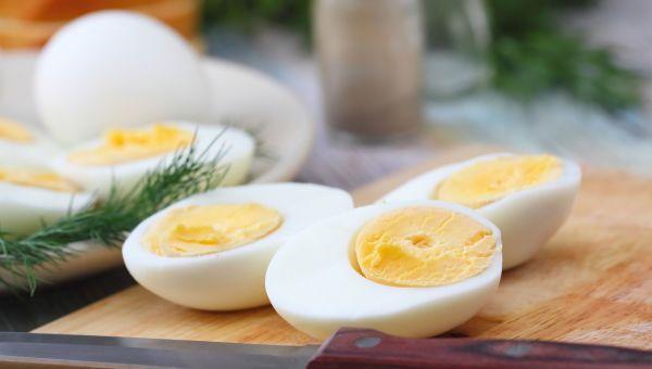 28. Hard-boiled egg