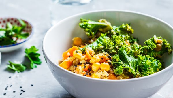 Experiment with chickpeas