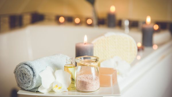 Applying scented soaps and other products