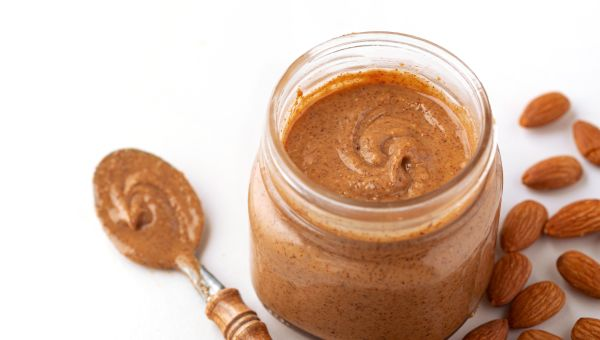 Almond and ricotta wrap