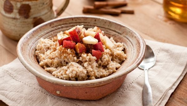 Tip #5: Embrace oatmeal.