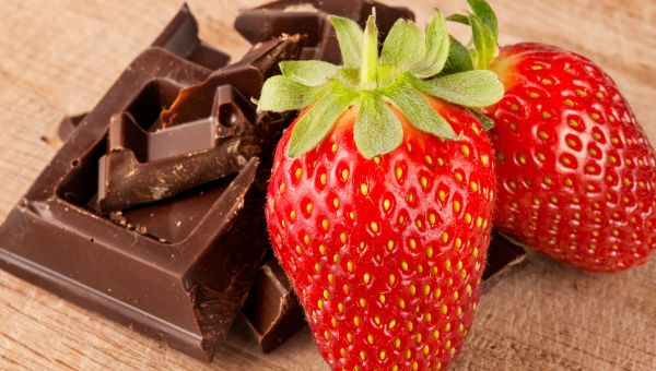 Chocolate-Covered Strawberry Mousse Recipe