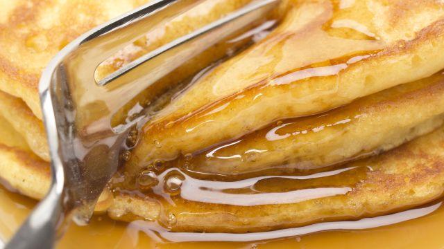 Orange Buttermilk Pancakes Recipe