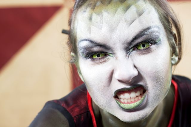 The Scary Truth About Halloween Contacts