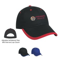 Customizable Price Buster Cap with Visor Trim