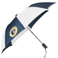 "Printed 42"" Auto Folding Umbrella"