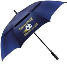 "Logo 58"" Arc Auto Open Golf Umbrella"