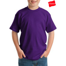 Hanes Youth Comfortsoft 50/50 Cotton/Poly T-Shirt