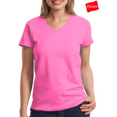 Hanes Ladies Comfortsoft V-Neck T-Shirt