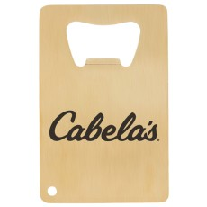Credit Card Brushed Gold Bottle Opener