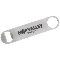 Thin Paddle Style Stainless Steel Bottle Opener