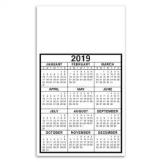 Standard Portrait Custom Calendar Magnet