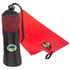 Microfiber Quick Dry and Cooling Towel in Mesh Pouch