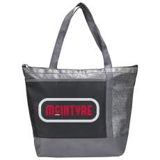 Chrome Non-Woven 18 Can Cooler Bag
