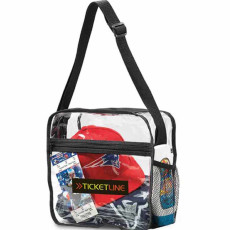 Custom Printed Clear Event Messenger Bag