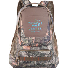 Custom Logo Hunt Valley Camo Compu-Backpack