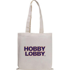 Custom Printed Natural Magazine Economy Tote