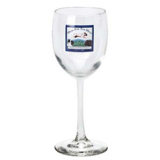 12 oz. Printed White Wine Glass